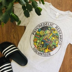 WICKED CLOTHES Psychedelic Research Cotton Tee